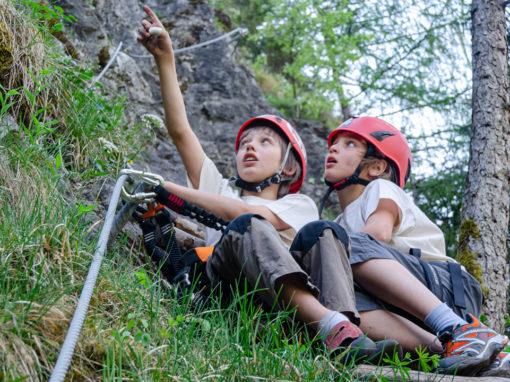 Steinwand Klettersteig – Rückschau auf den 07.05.2011